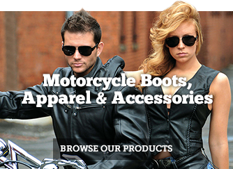 Motorcycle Boots, Apparel and Accessories