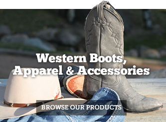 Western Boots, Apparel and Accessories
